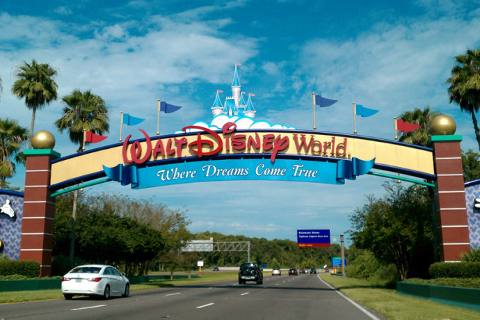 Disney World, en Orlando (wikimedia.org)