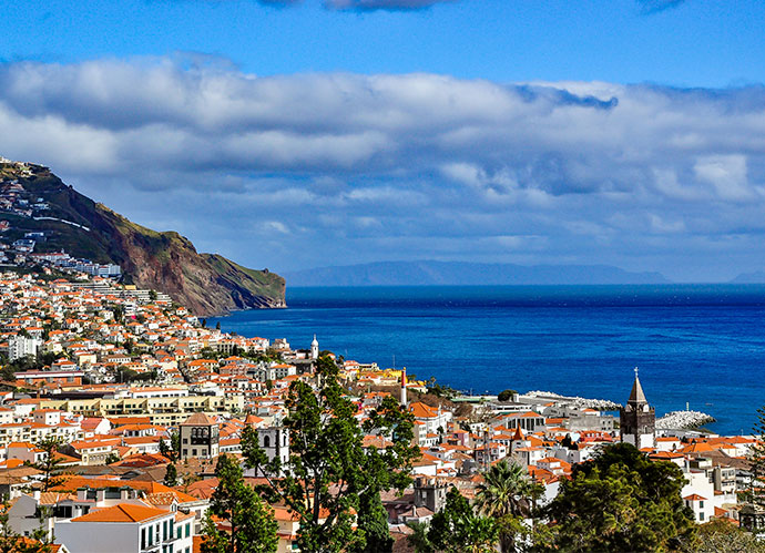 Funchal, capital de Madeira – Portugal (iStock)