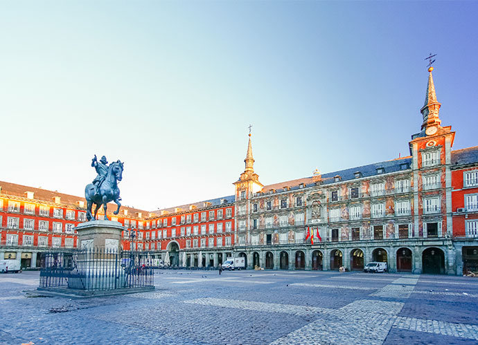 Plaza Mayor de Madrid (iStock)