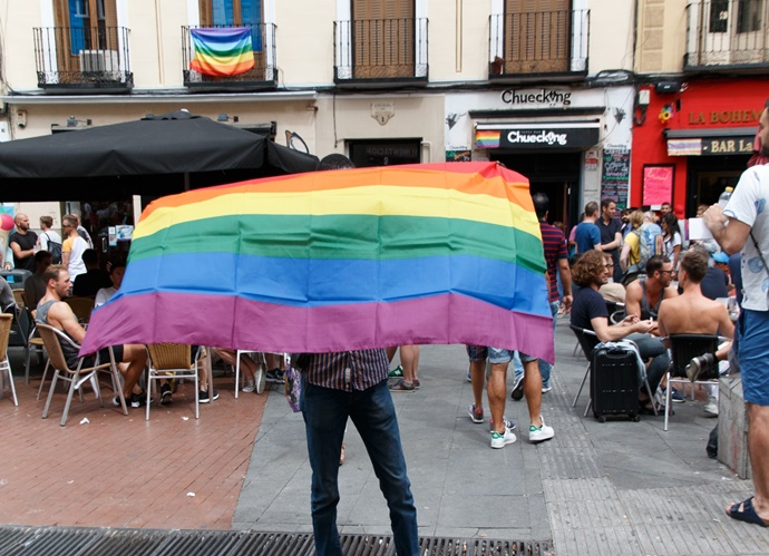 Plaza de Chueca, icono de la libertad sexual