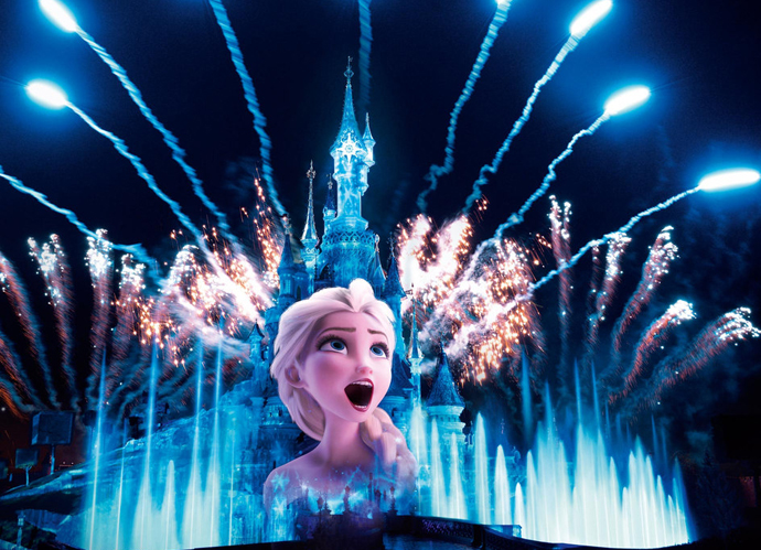 espectaculos disneyland paris