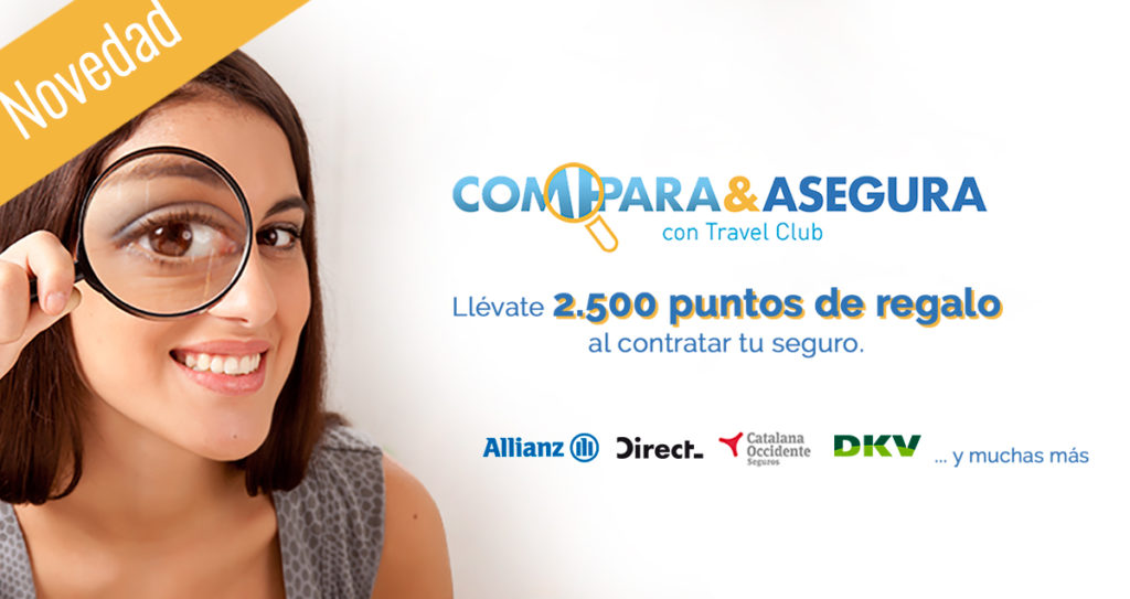 Compara y Asegura con Travel Club