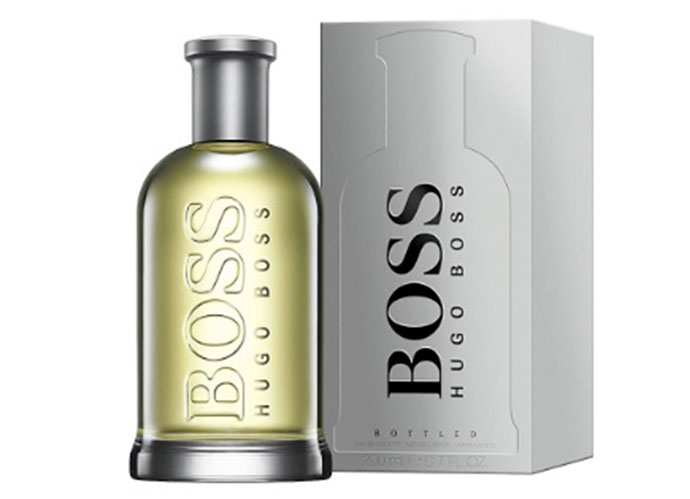 Hugo Boss Bottled. Precio (200 ml): 55,49 (perfumesclub.com)