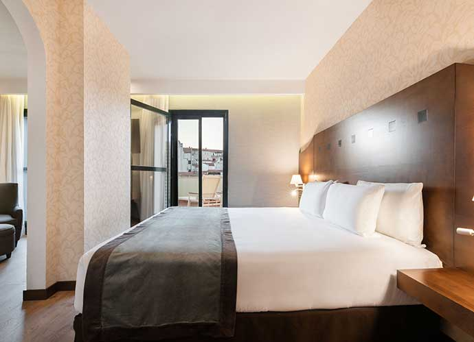 hoteles caceres