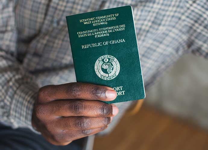 pasaporte africa